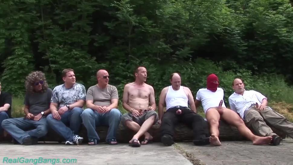 REALGANGBANGS - real german anal gangbang party orgy
