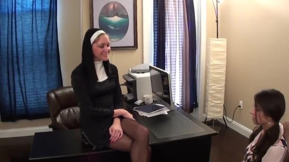 Nuns feet punishment