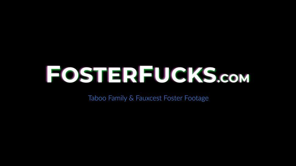 FOSTER FUCKS - MIL Aaliyah Love and stepdaughter Laney Grey 3some fucked