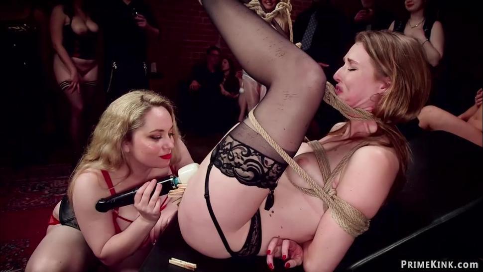 Huge tits mistress anal fists slaves