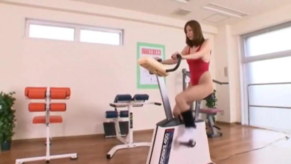 Trainer Fucks Sexy Japanese Teen On Minimal Swimsuit