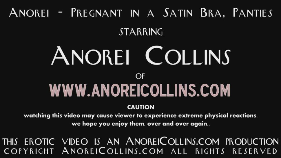 Anorei Collins (Lexxxi Luxe) busty pregnant girl satin bra