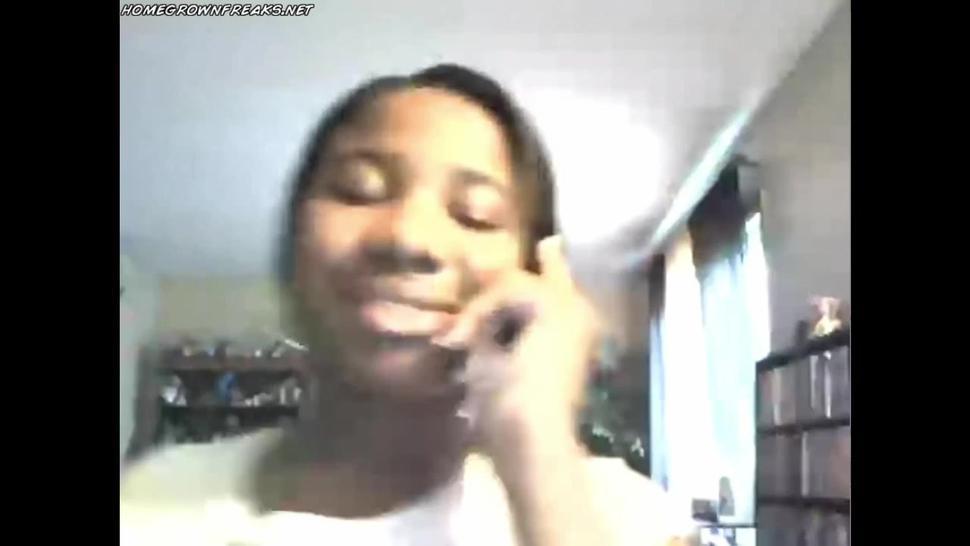 Nice Ebony BBW Webcam