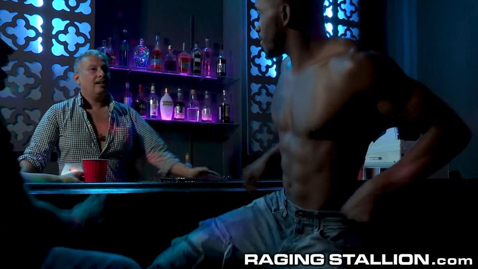 RagingStallion - What Happens After Hours At Strip Club