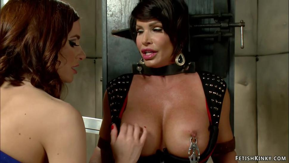 Huge boobs MILF patient whipped
