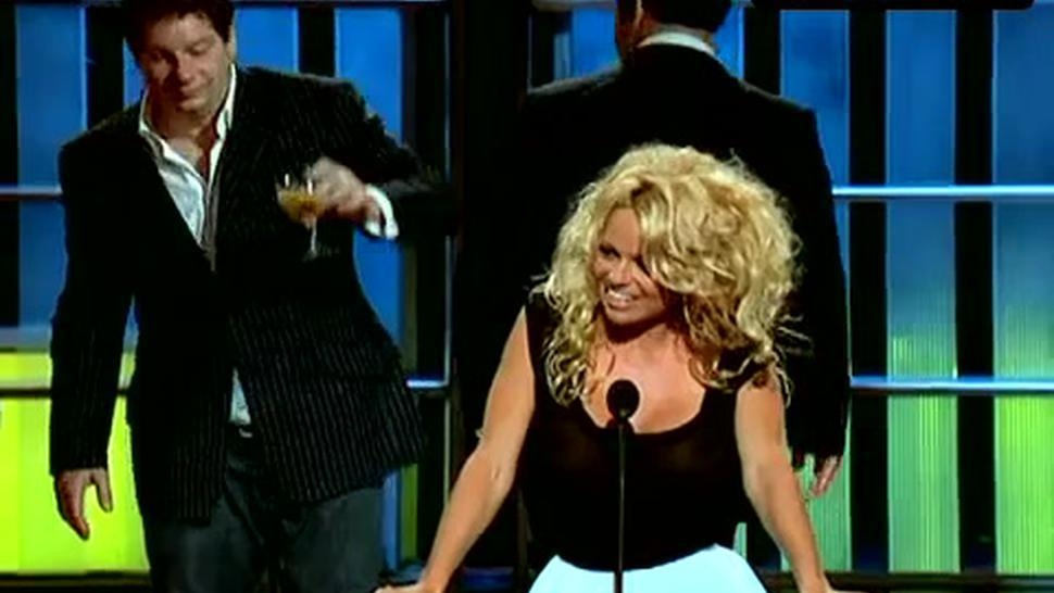 Pamela Anderson Sexy Scene  in Comedy Central Roast Of Pam Anderson