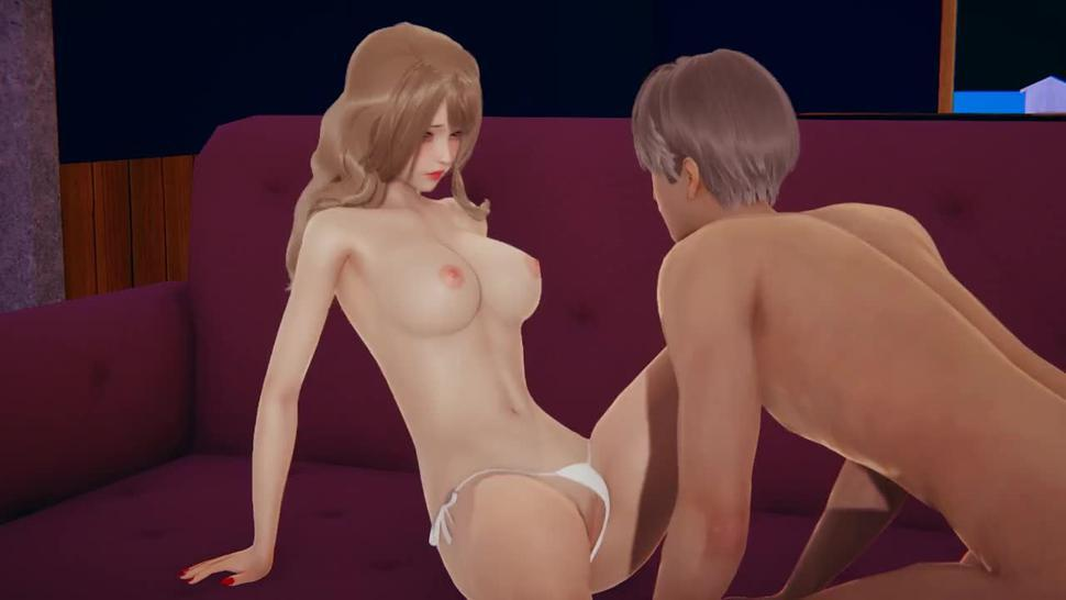 who is she - Hentai game 3d illusion