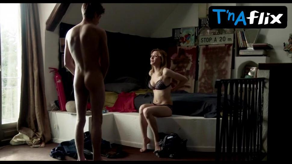 Adeline Rebeillard Breasts,  Bush Scene  in Sexual Chronicles Of A French Family