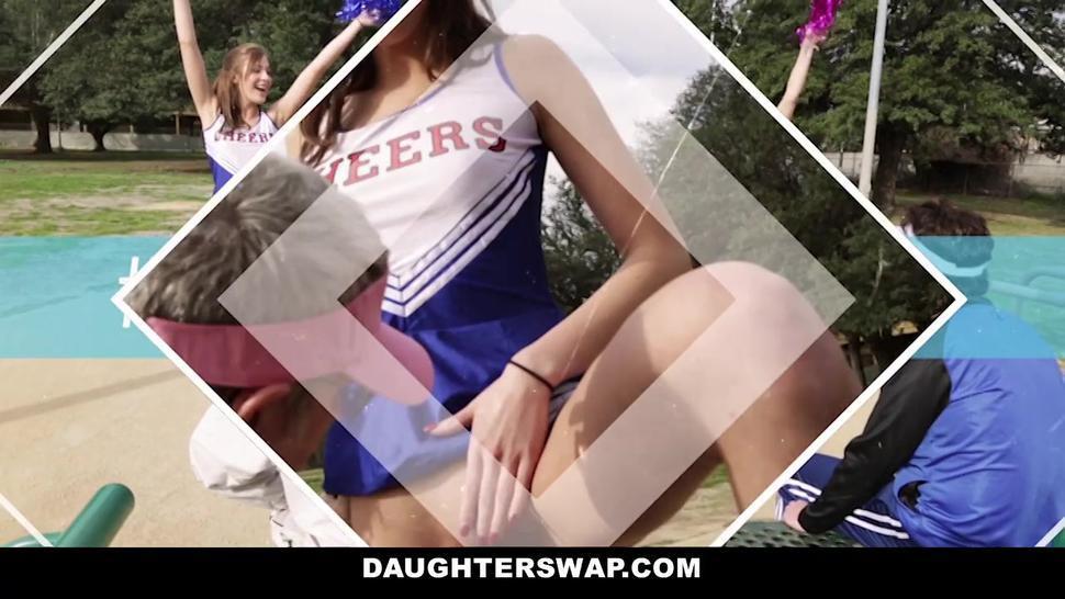 Daughterswaps - Teens Agree To Screw Each Others Daddies