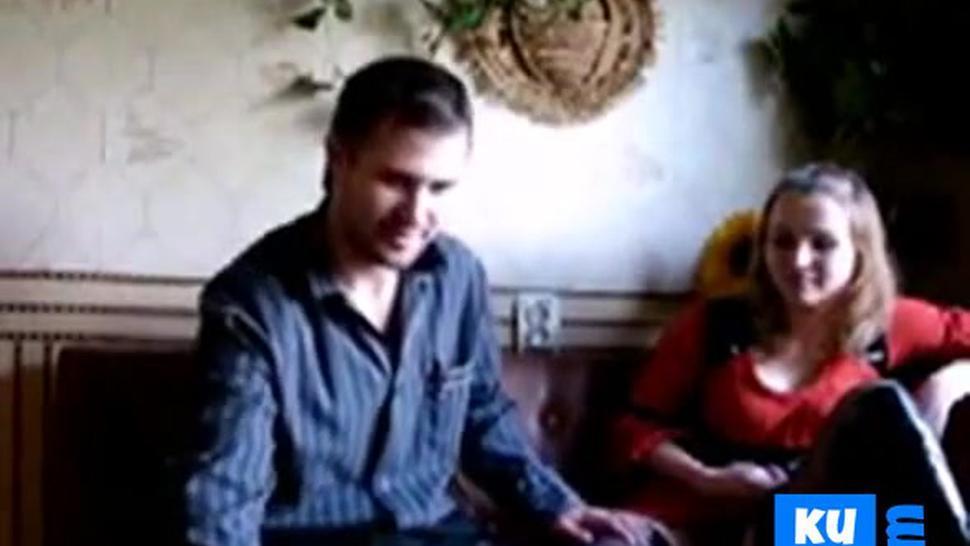 Russian couple homemade video