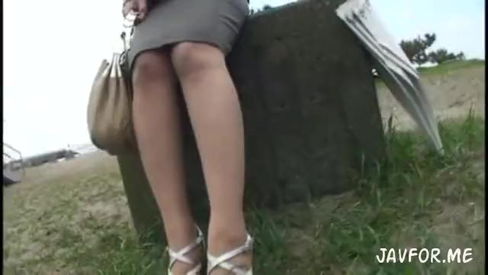 busty jap lady get screw hard in hot spring