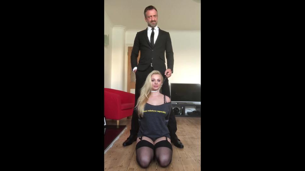 PASCALSSUBSLUTS - Tied Up Orion Starr Fucked And Cum Sprayed