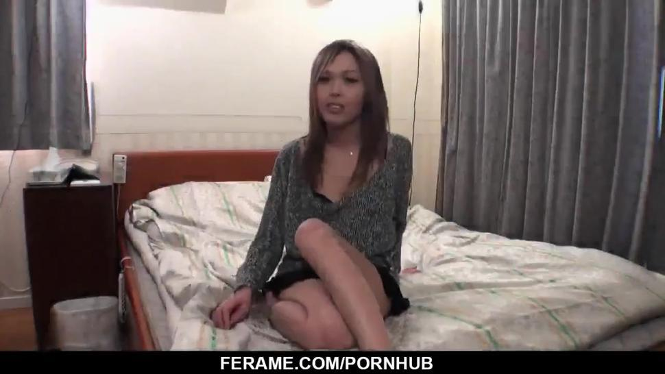 Rina amazes with how tight she is and how naughty - More at Slurpjp com