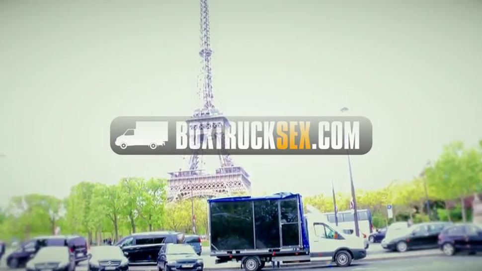 Boxtrucksex - Amina Danger Takes A Huge Dick In Public