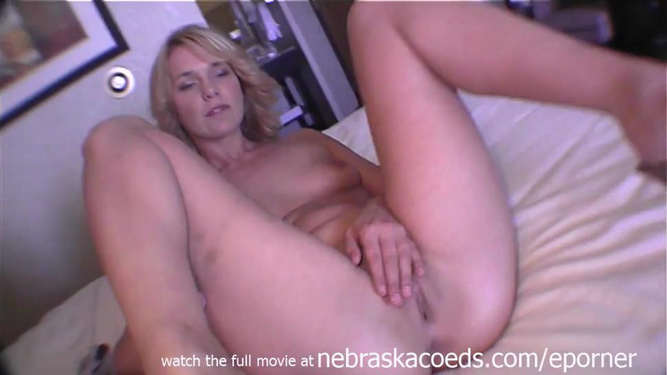 Hot Blonde With Braces And Puffy Nipples Being Naked On Camera For The First Time And Nervous