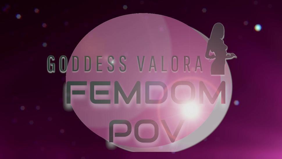 Goddess val cei off boobs