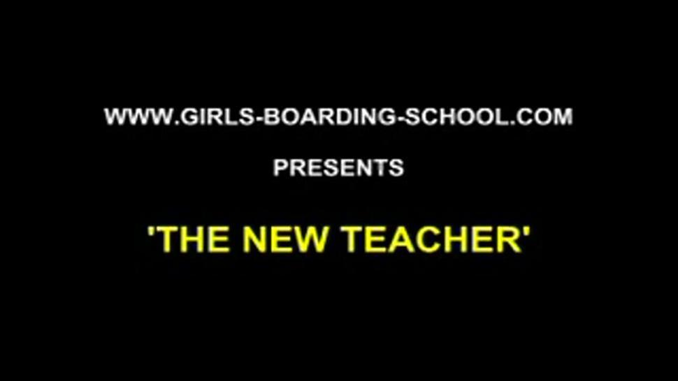 Teen/amateur/new the teacher