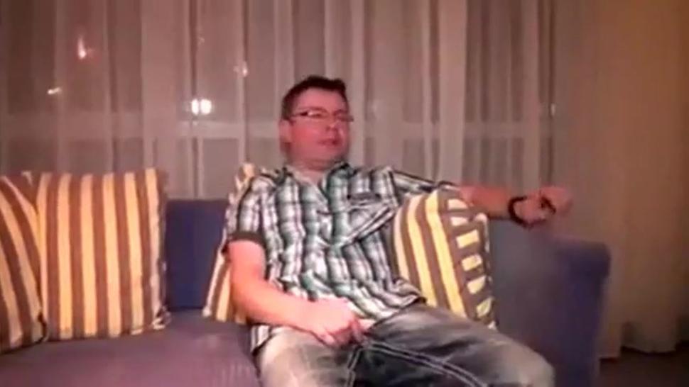 Ich bin in einer Dreier MMF in Amateur-Orgie Video