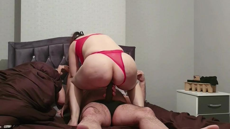 Step mom can't take 11 inch of cock from step son for fuck