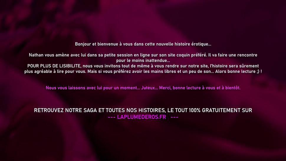 Rencontre coquine en ligne - Histoire en français de chat porno avec masturbation mutuelle