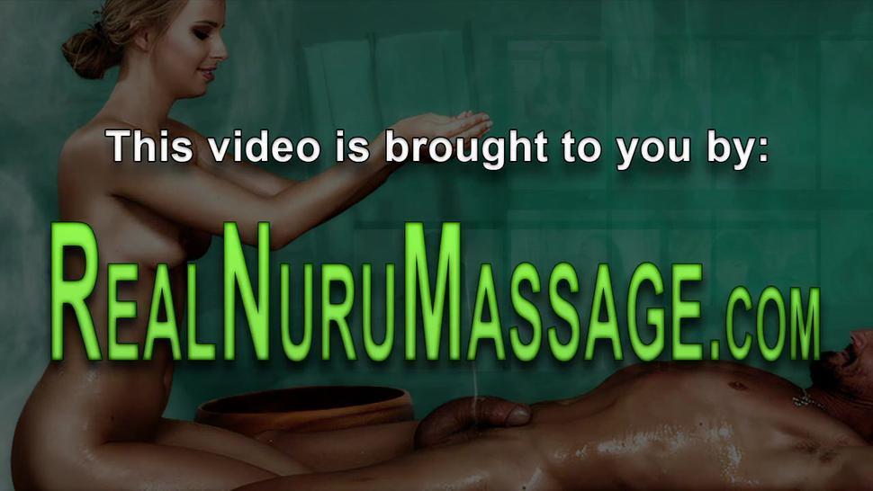 Asian teen masseuse wam in nuru gel