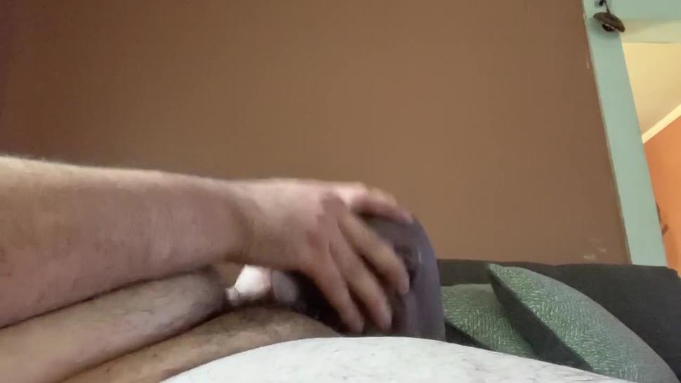 Fucking my sex doll head and cum inside it