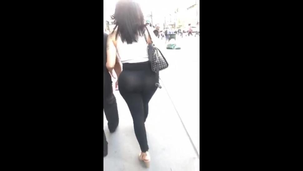 Thot?Stop?.?com - Thick Latina Booty See Thru Pants