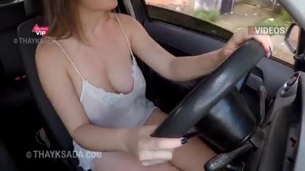 Exposed wife in public