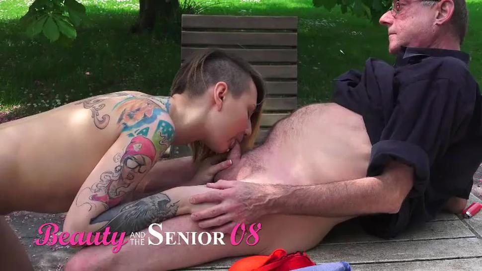 Sexy Euro Teen Bangs Old Man