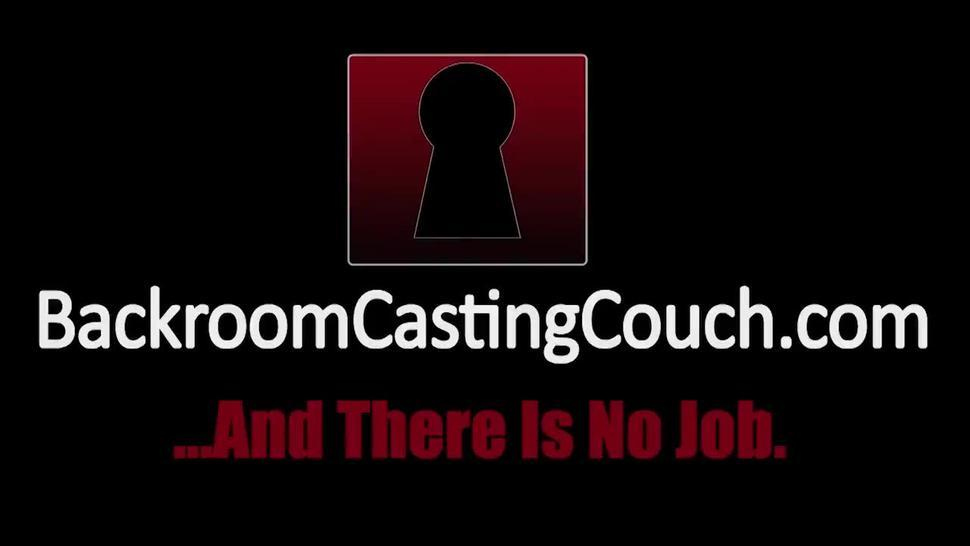 First Time Anal Teen Rose on Casting Couch