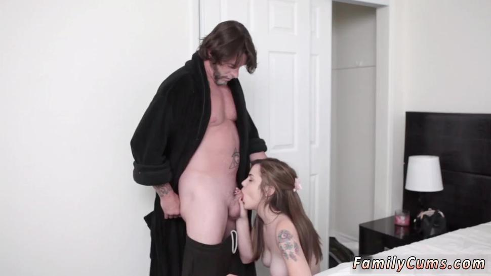 Teen strip dance hd first time Sneaky And Sleepy Step Sex