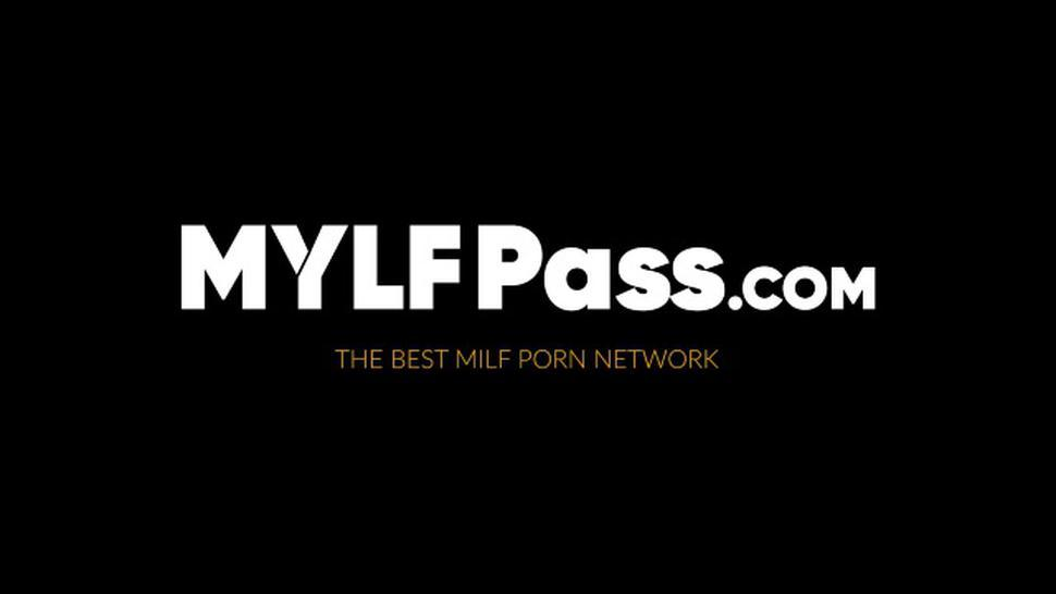 MYLF PASS - Blonde MILF Anikka Albrite rides cock like a dirty cowgirl
