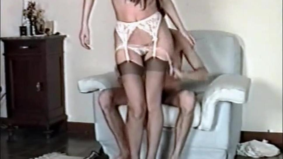 Vintage Girl Fucked In Her Hairy Pussy