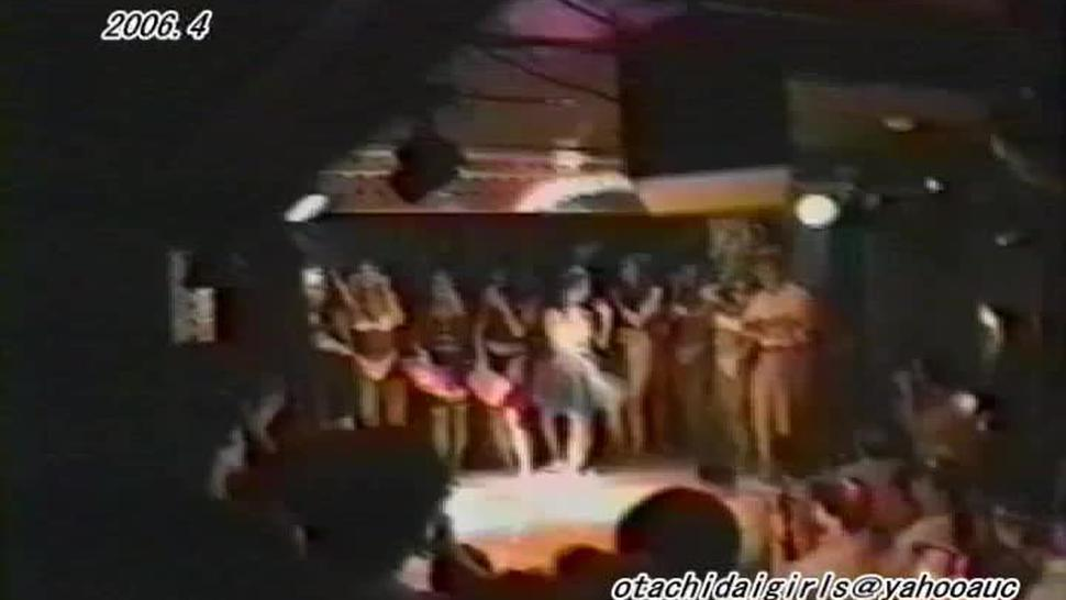 japanese strip dance stage show