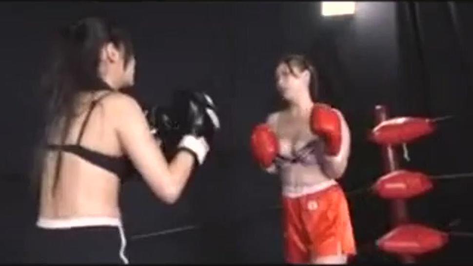 Japanese after boxing KO lesbian sex