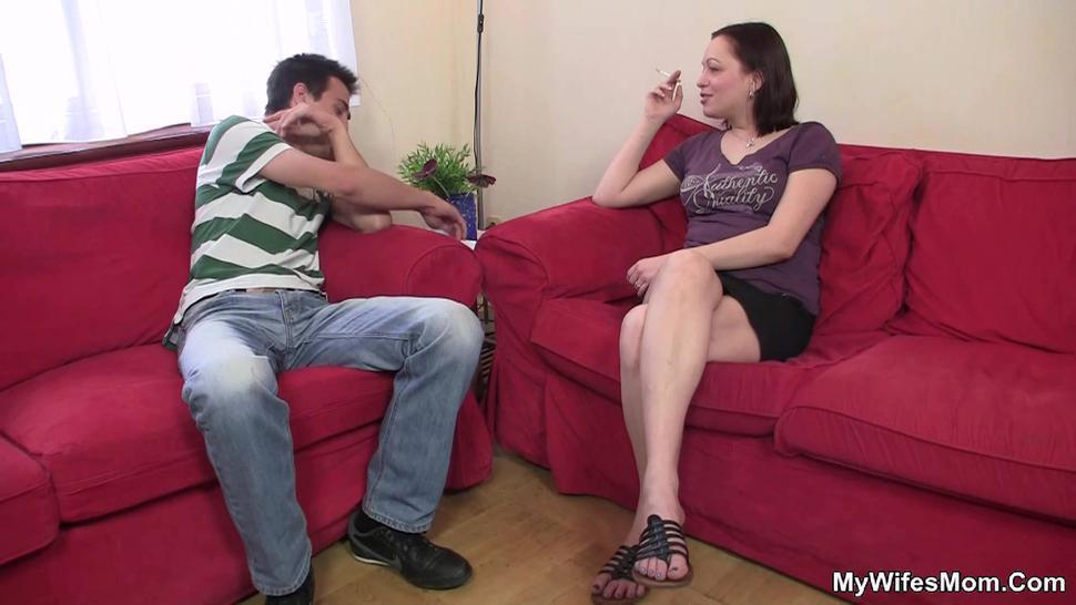 MYWIFESMOM - Horny girlfriends mom gets fucked by boy