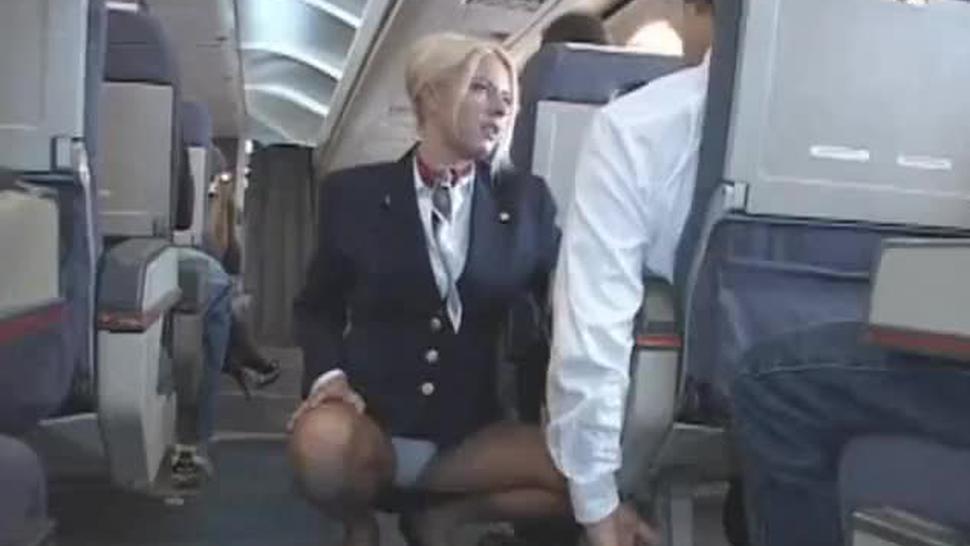 AMWF Stewardess Riley Evans