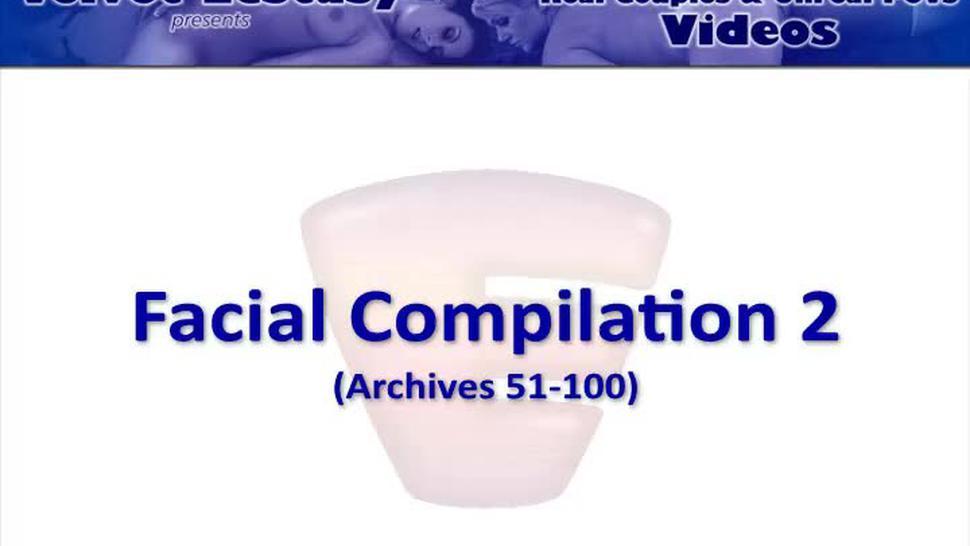 Velvet Ecstasy Facial Compilation #2 - 50 Awesome Facial Cumshots