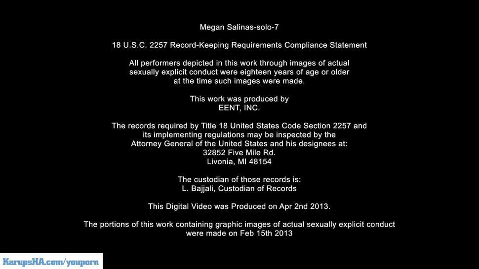 Megan Salinas Masturbating