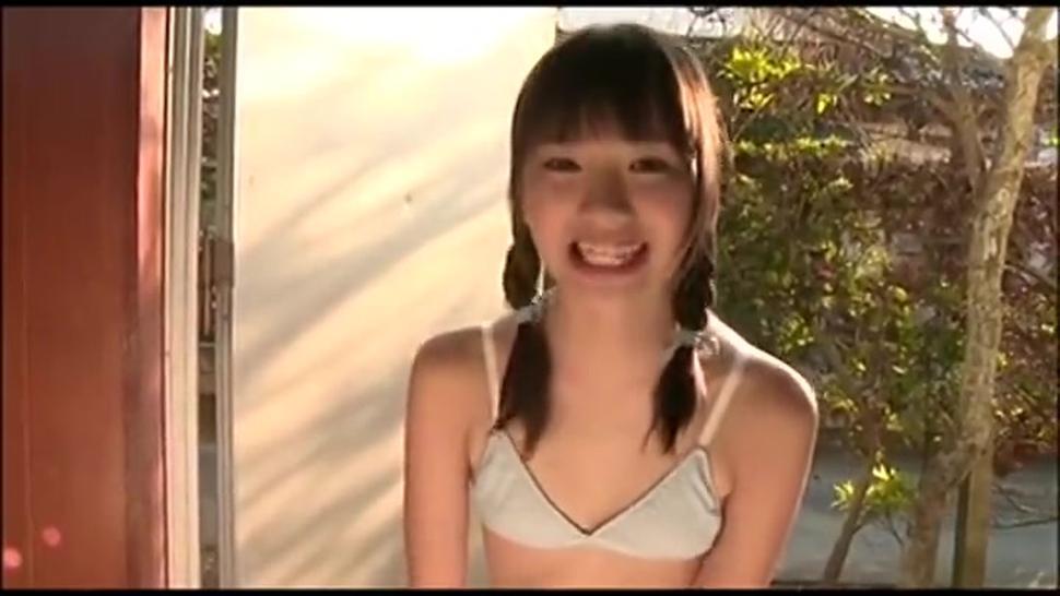 Cute Japanese Teen Posing