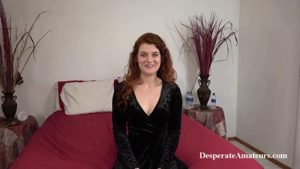Casting redhead squirting Vanessa Desperate Amateurs