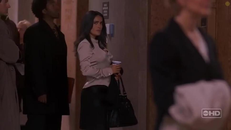 Salma Hayek Sexy Tits Scene From Ugly Betty
