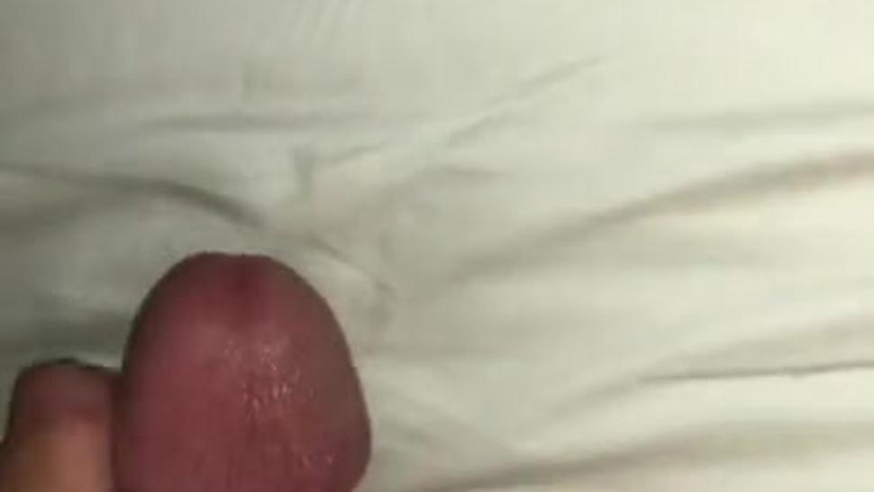 Moaning & Humping My Thick Dick On My Bed (Huge Cumshot)