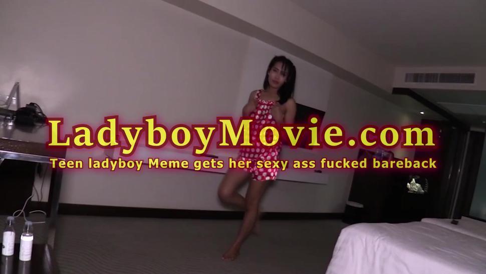 Strapon/fucked ladyboy bareback teen meme