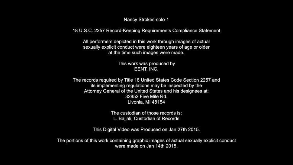 Nancy Strokes Solo 1 - Nancy Slam