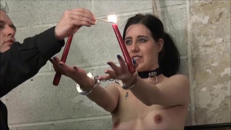 Electro Bdsm And Rigid Bondage Of Slave Honesty Calliaro In Tit Torments