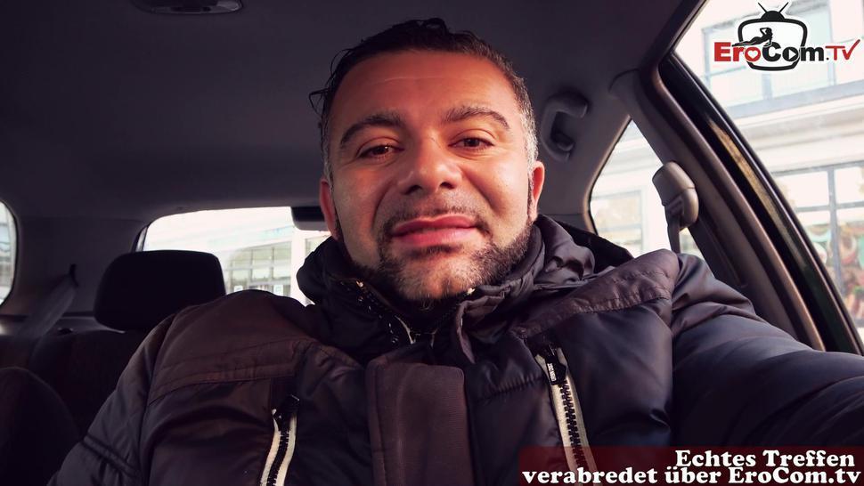 EROCOM.TV - real street date with german big tits pick up milf EroCom Date