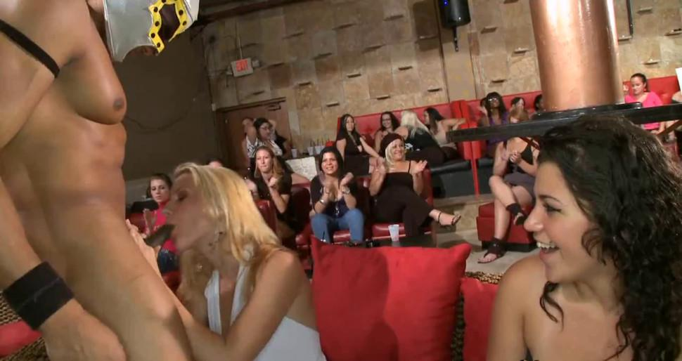 Sensual and wild stripper party - video 21