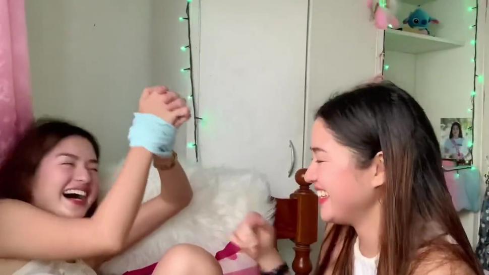 Asian armpits tickling