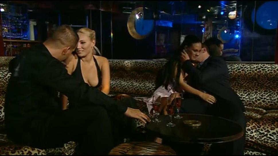 Group sex with hungarian cutes Elinor & Valentina